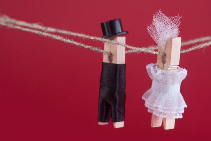 Segnaposto Matrimonio Mollette.Segnaposto Matrimonio Fai Da Te Con Le Mollette Donnad