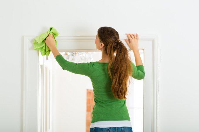 come pulire i muri dalla polvere, pulire i muri