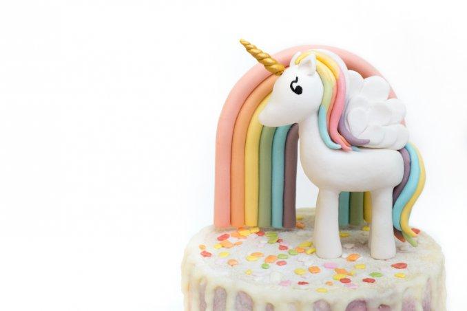 torte unicorno pasta di zucchero, unicorno pasta di zucchero