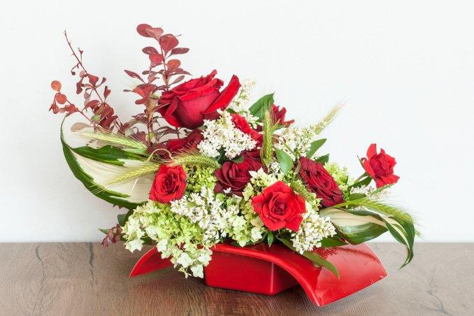 composizioni floreali fai da te casa