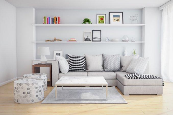 Come arredare un soggiorno piccolo in modo moderno donnad