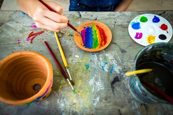 Come decorare i vasi di terracotta donnad - Decorare vasi terracotta ...
