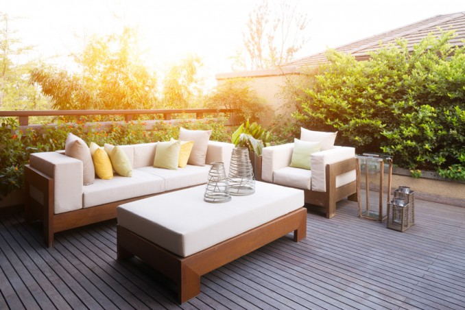 Arredamento giardino moderno 3 idee di outdoor design da for Arredamento giardino design