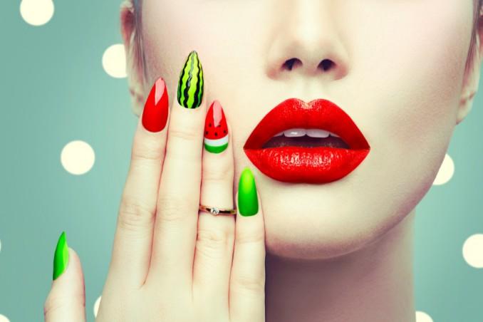 nail art, estate 2018, tendenze