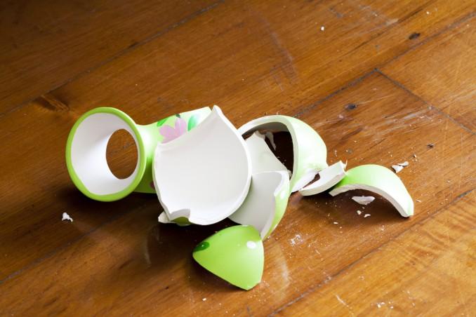 vaso rotto, come riparare vaso