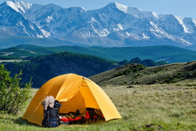 vacanza, tenda