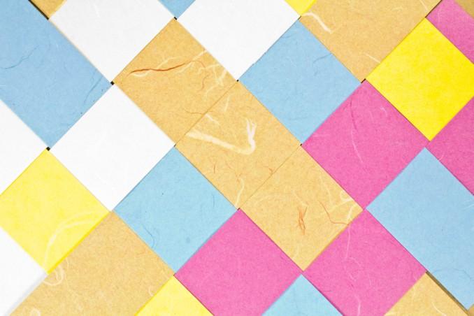 Tecniche Di Intreccio Con La Carta Tessitura Per Bambini Donnad