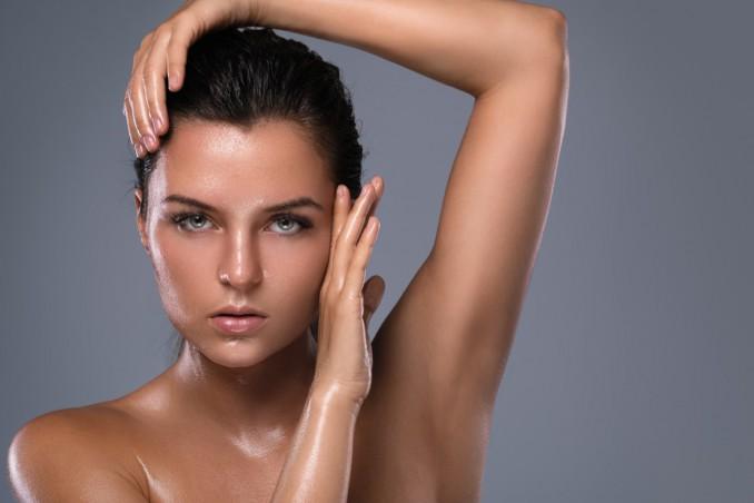 trucco viso, per chi suda, make-up da provare