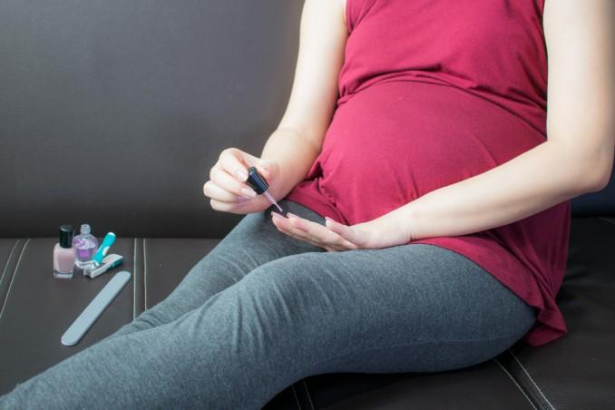 unghie, gravidanza