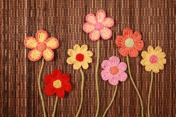 Fiore 5 Petali Uncinetto Il Tutorial Donnad