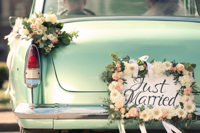 macchina, nozze