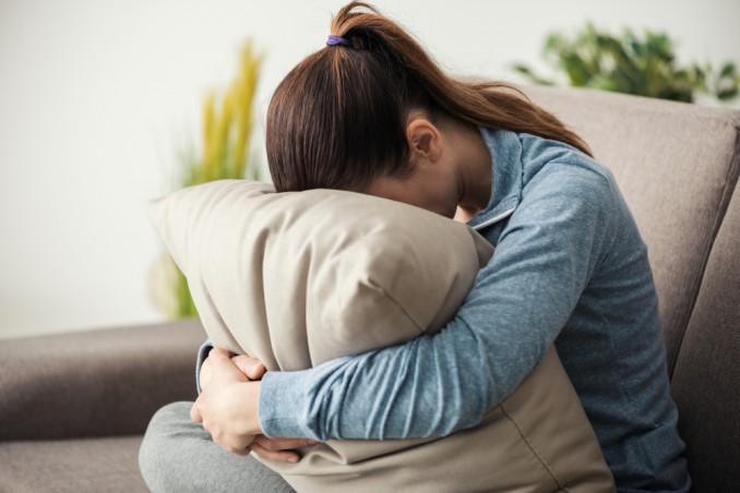 depressione, cuscino