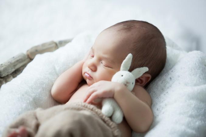 neonato, dorme