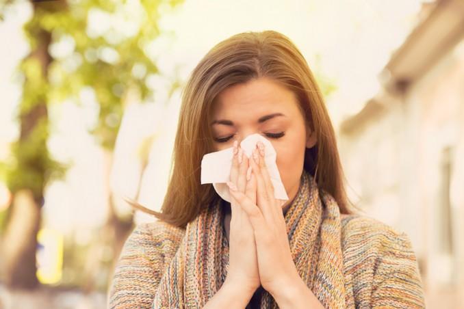 raffreddore, allergia, sintomi