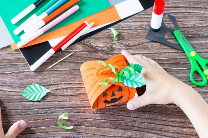 Decorazioni Tavola Halloween Fai Da Te : Decorazioni halloween fai da te con i bambini donnad