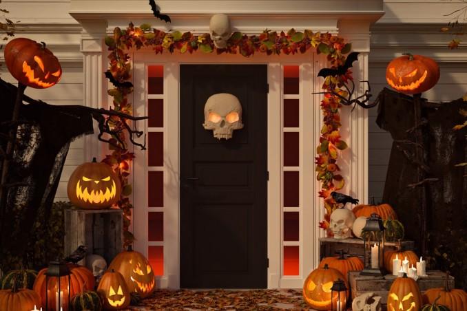 Festa di Halloween in casa  come decorare gli ambienti  cf405e944d9c