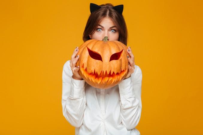 costumi halloween semplici, costumi halloween fai da te, vestiti halloween fai da te