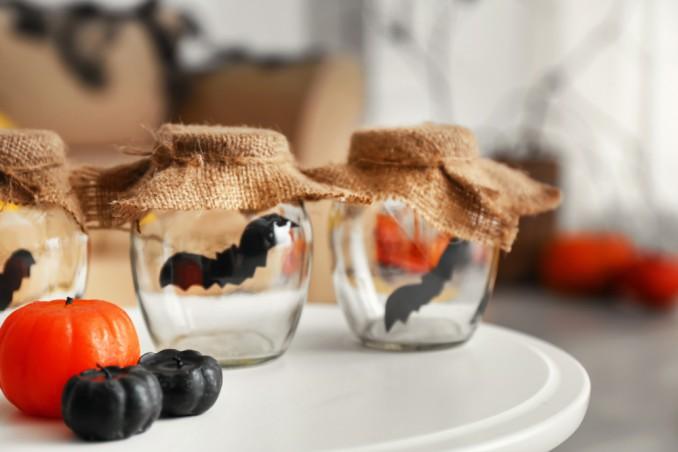 decoupage halloween, decorazioni halloween, idee halloween