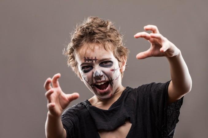 goditi un grande sconto Sconto speciale completo nelle specifiche Trucco Halloween da zombie per bambini: come realizzarlo ...
