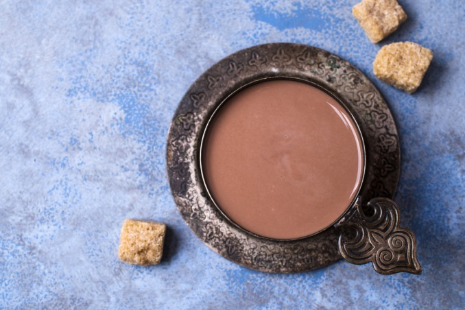 cioccolata densa fatta in casa