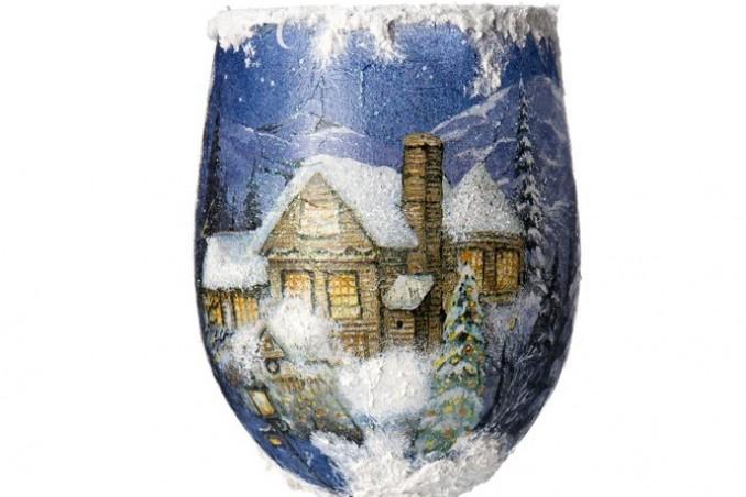 pasta neve fai da te, pasta neve finta, come fare pasta neve, pasta neve decoupage