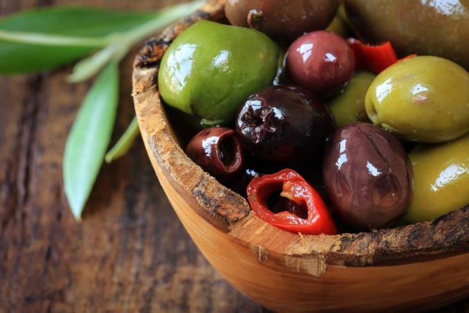 olive, salamoia, preparazione