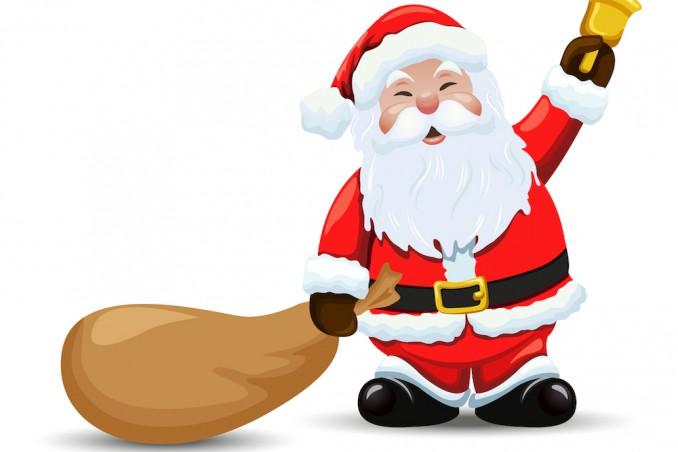 Slitta Di Babbo Natale Fai Da Te.Babbo Natale La Campanella Fai Da Te Donnad
