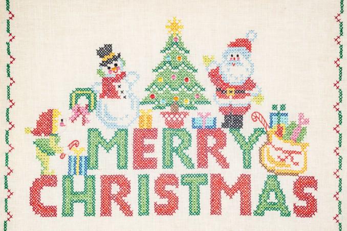 Biglietti Di Natale A Punto Croce.7 Schemi Gratis Da Non Perdere Donnad