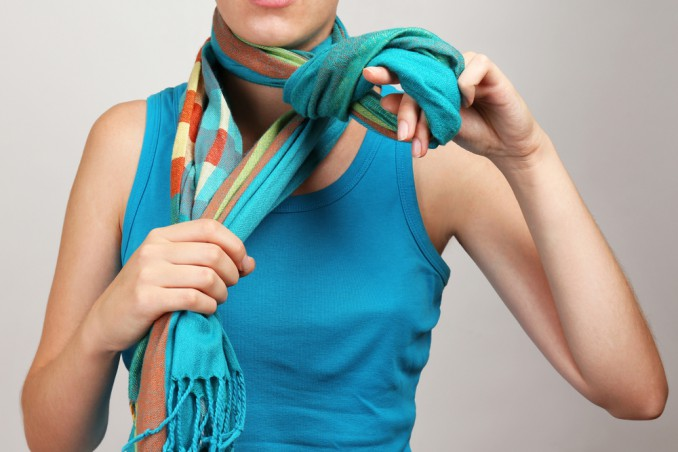 indossare sciarpa consigli