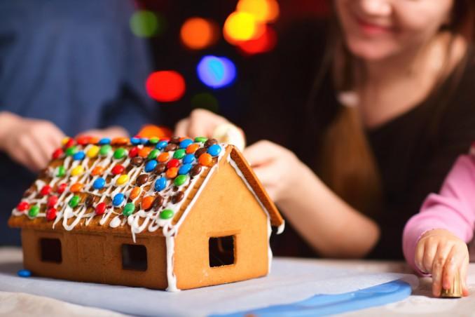Casetta Di Natale Da Colorare : Casetta di natale con i biscotti fatta in casa donnad