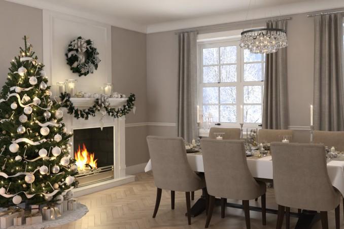 Come pulire la sala da pranzo per le feste di natale donnad for Salotto sala da pranzo
