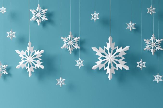 Fiocchi Di Neve Di Carta Tutorial : Come fare fiocchi di neve con la carta donnad