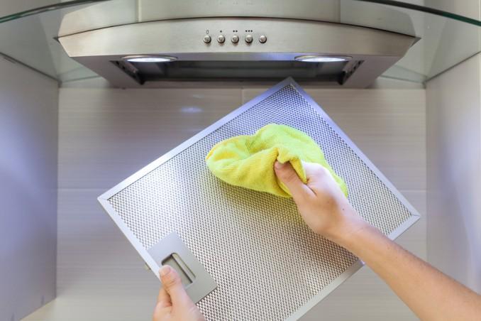 pulire cappa cucina