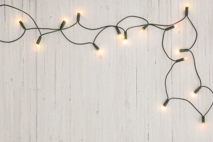 Natale, luci, conservare