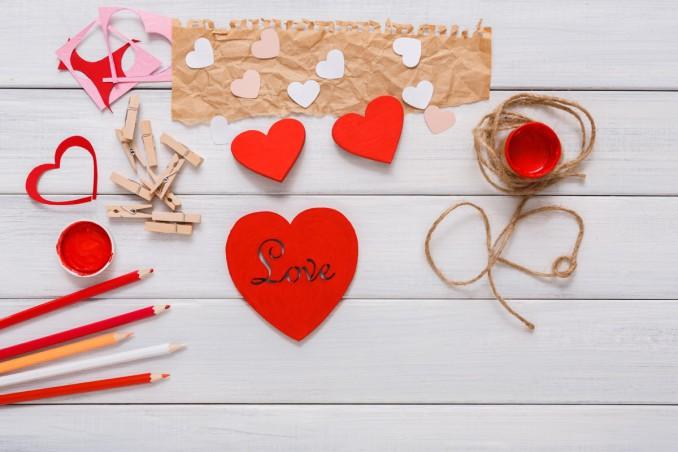 lavoretti, san valentino, fai da te