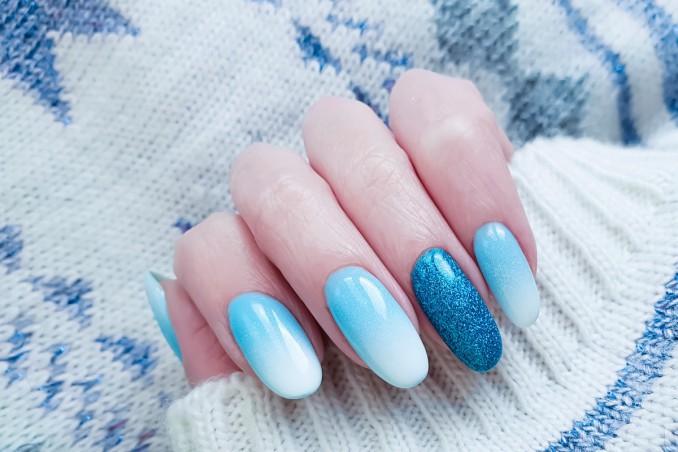 ombre nail art, decorare unghie, video tutorial