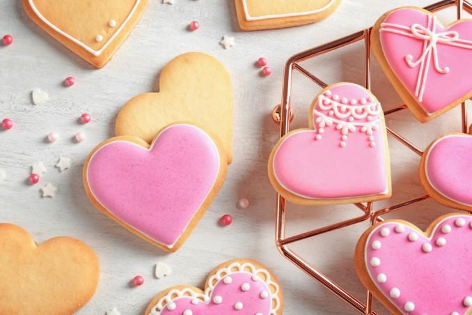 dolci, San Valentino, dessert leggeri