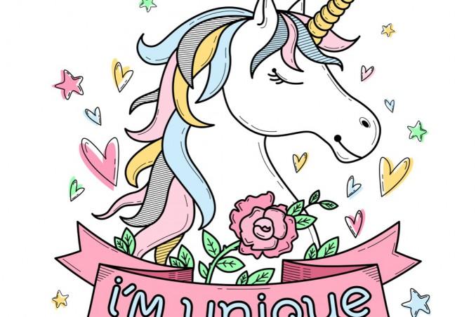 Tatuaggi A Tema Unicorno 10 Disegni Originali Donnad