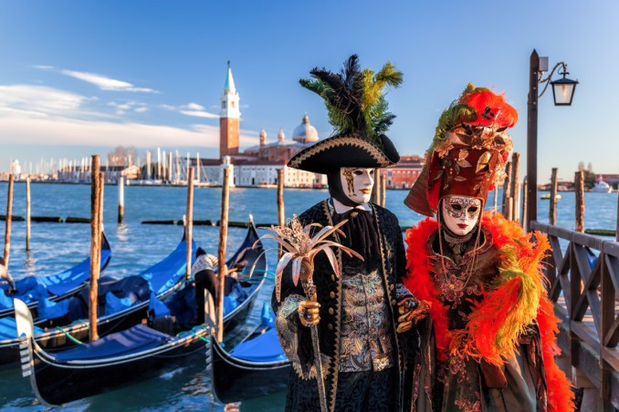 maschere, venezia, costumi