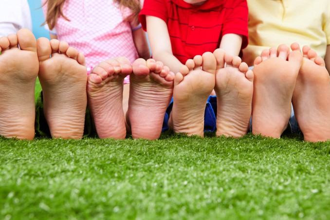 piede del bambino