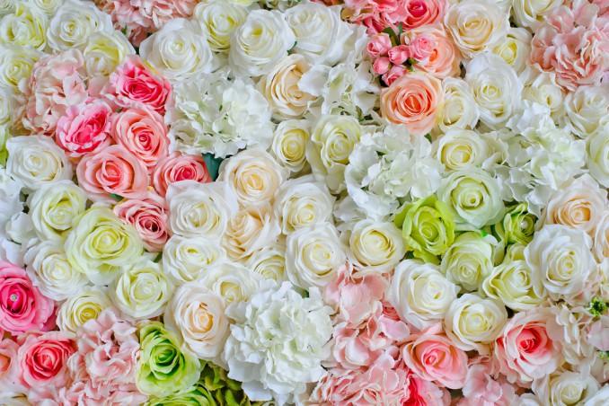 come fare parete fiori, parete fiori fai da te