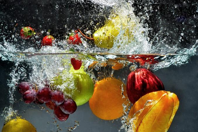 pulire frutta e verdura da pesticidi