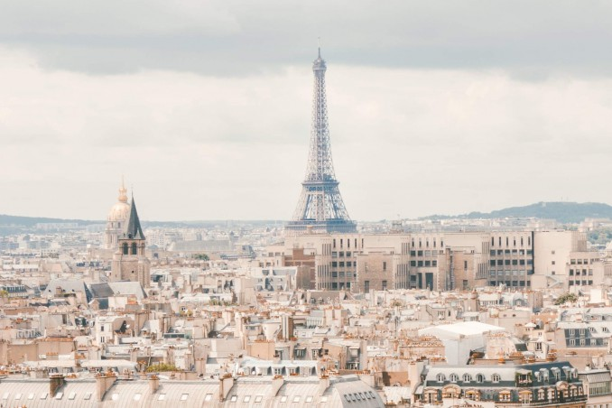 Parigi progetto di Manuela Vitulli per DonnaD/Henkel