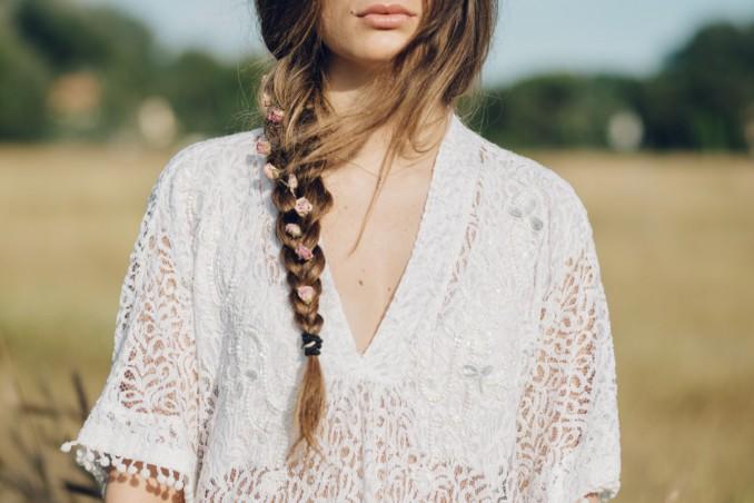 capelli lunghi, acconciature sciolte, trecce