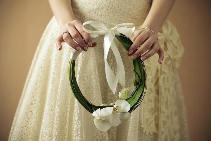Bouquet Da Sposa Fai Da Te.Come Fare Un Hoop Bouquet Da Sposa Donnad