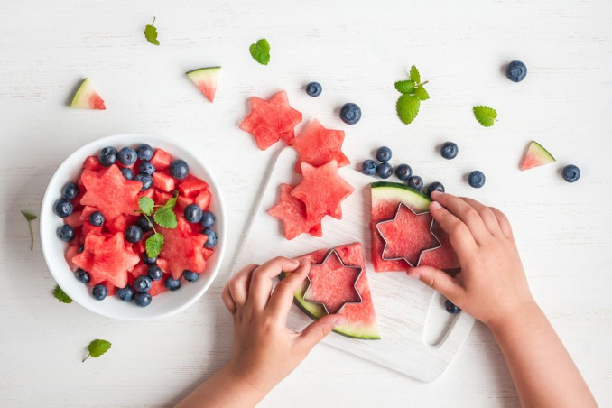 idee frutta alimentazione bambini
