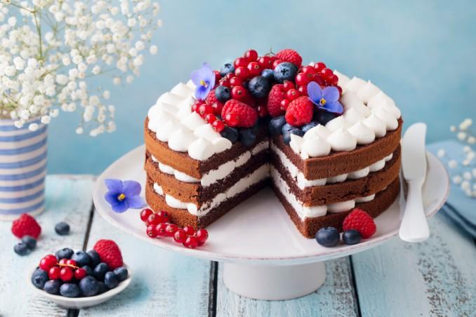 torte decorate frutti fiori, torte decorate, torte frutti, torte fiori