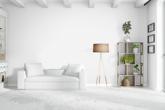 Arredamento total white la casa in bianco in stile for Arredamento casa bianco
