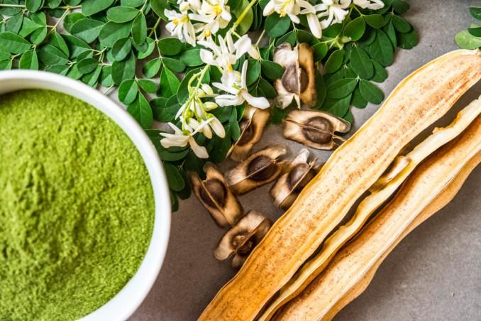 moringa oleifera, proprietà cosmetiche, proprietà dimagranti
