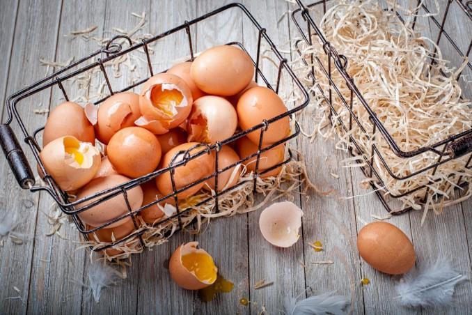 sognare, uova rotte, cosa significa